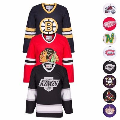 Nhl Official Alumni Ccm Premier Throwback Home   Away Jersey Collection Mens