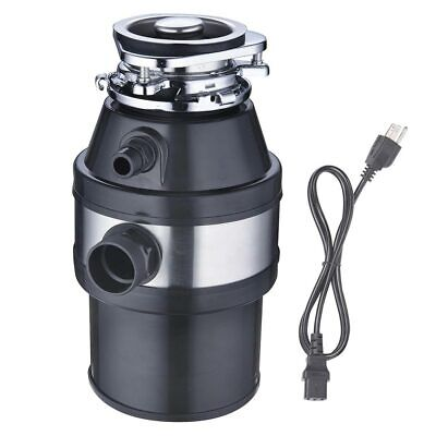 1 HP 2600 RPM Continuous Feed Household Garbage Disposer Kitchen Waste Disposal