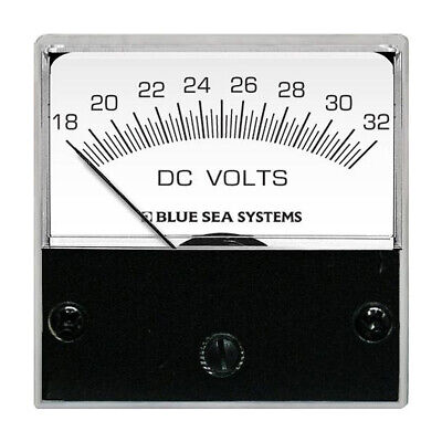 Blue Sea Systems 8243 Dc Analog Micro Voltmeter 2