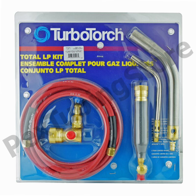 TurboTorch 0386-0247 LP-1 Torch Swirl Kit, MAP-Pro/Propane