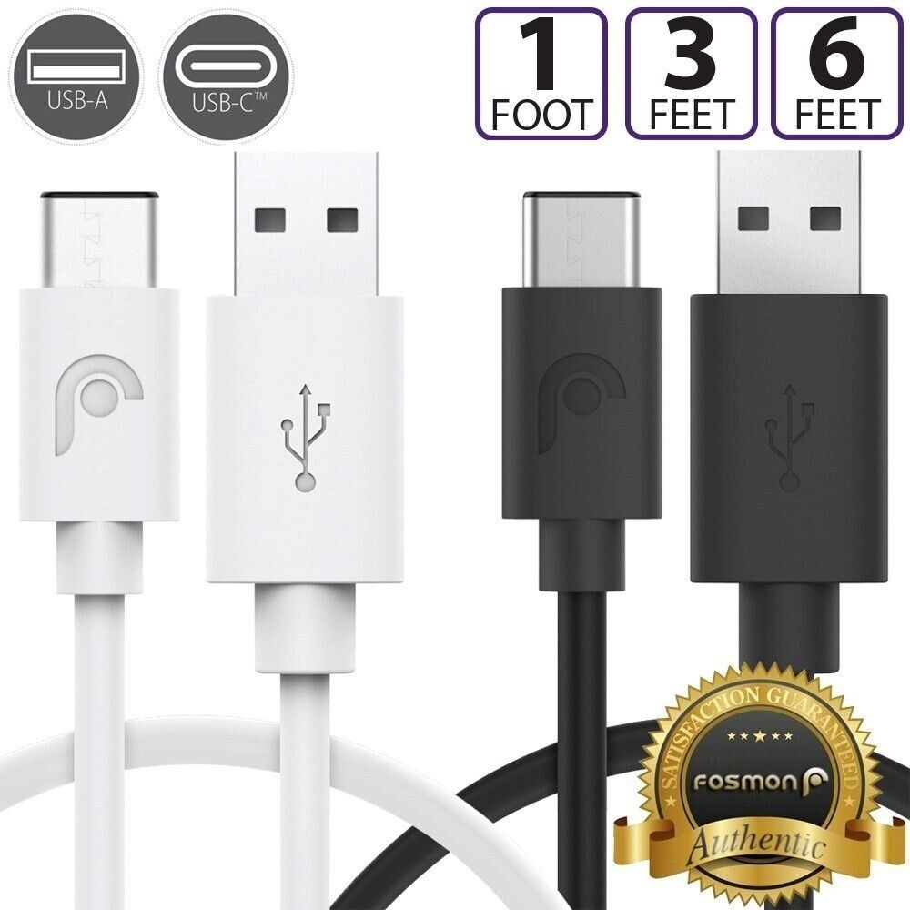 USB Type C USB-C Dual Layer Cable for Galaxy Lenovo Tablet i