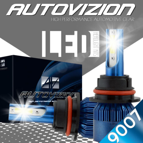 AUTOVIZION LED HID Headlight kit 9007 HB5 White for 2000-2003 Chrysler Voyager