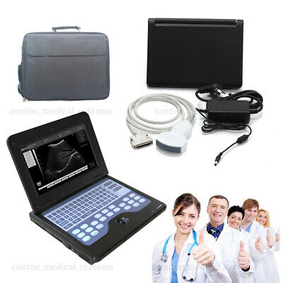 New Usa Digital Ultrasound Scanner Machine Portable Cms600p2convex Probe 3.5mhz