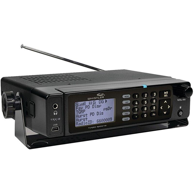Whistler - TRX-2 Digital Scanner Radio - Mobile/Desktop - Black
