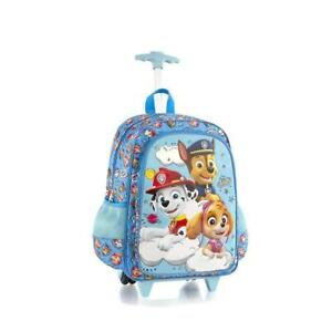 Nickelodeon Core 18 Inch School Bag Rolling Backpack for Kids [PAW Patrol]