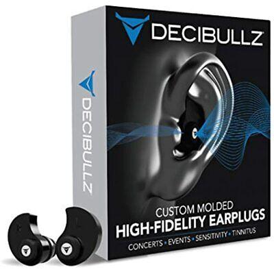 Decibullz - Custom Molded High Fidelity Earplugs Hearing Protection Musicians