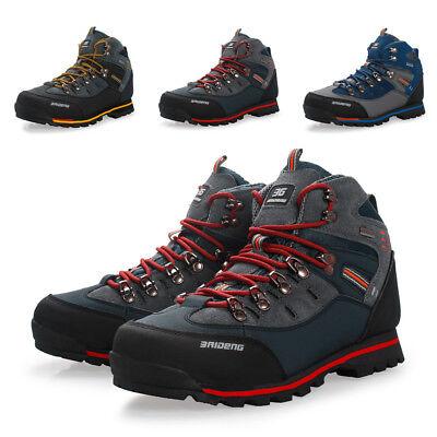 Men's Outdoor Sport Hiking Shoes Waterproof Non-slip Trekking Camping All (Camp Sport Shoe)