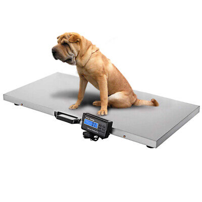 1000lbs Animal Scale Stainless Platform Scales For Hogs Goat Sheep Alpacas Pig