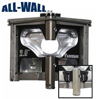 Columbia Drywall Taping Tools 2 Angle Headcorner Finisher Wconvertible Wheels