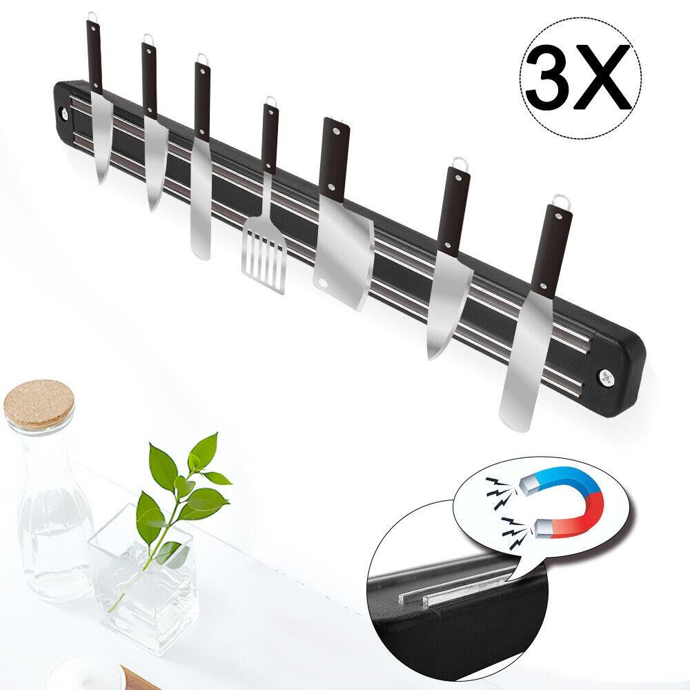 10 x Magnetleiste Gerätehalter Magnet Küchenleiste Messerleiste Wandleiste 33 cm