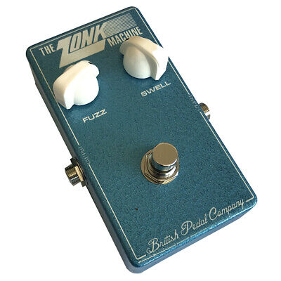 British Pedal Company Compact Series Zonk Machine Guitar Fuzz Effects Pedal