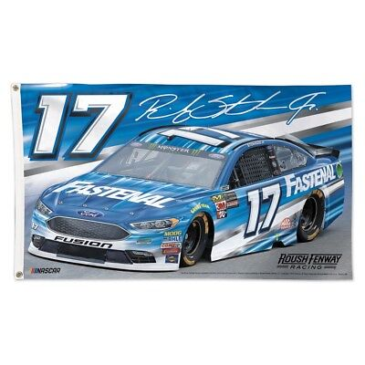 Ricky Stenhouse Jr 2018 Wincraft  17 Fastenal 3 X 5 Deluxe Flag Free Ship