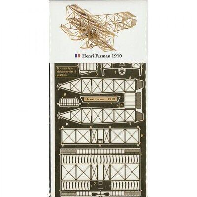 Модели самолетов, вертолетов Aerobase Henri Farman