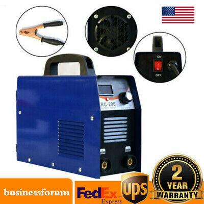 200amp Mmaarc Stick Dc Igbt Inverter Welder Dual Voltage Welding Machine Usa