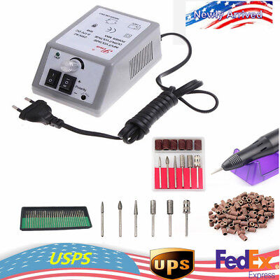 Manicure Pedicure Tool Electric Nail Art File Drill Set Nail Art Machine (Best Electric Nail Drill Machine)