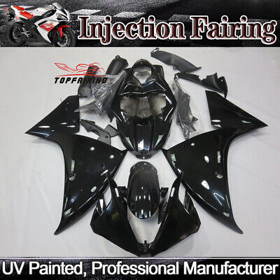 Glossy Black Fairing Kit For Yamaha YZF R1 2009-2011 10 ABS Injection Body Work