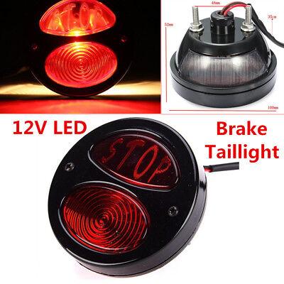 1PC Motorcycle LED Rear Tail Light Brake taillight Stop Running Light Lamp Handy