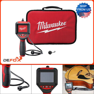 Milwaukee 3 Ft Inspection Camera Scope Kit Color Lcd Spector Wall Spot Vent Pipe
