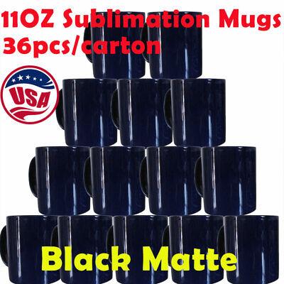 36pcs 11oz Blank Heat Press Sublimation Mugs Magic Cup Full Color Changing Mugs