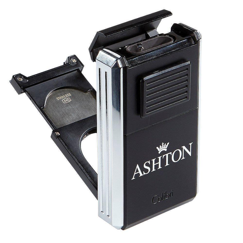 Colibri ASHTON ASTORIA Triple INLINE Lighter/Cigar Cutter Ch