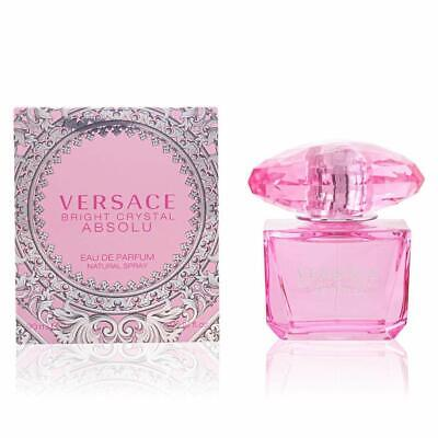 Versace Bright Crystal Absolu Eau de Parfum Spray for Women (3 oz)