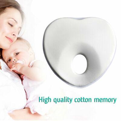 Baby Newborn Infant Pillow Memory Foam Positioner Prevent Flat Head Anti Roll US