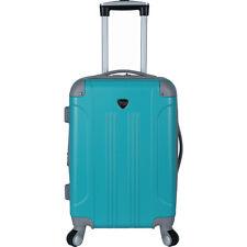 """Travelers Club Luggage Modern 20"""" Hardside Expandable Hardside Carry-On NEW"""