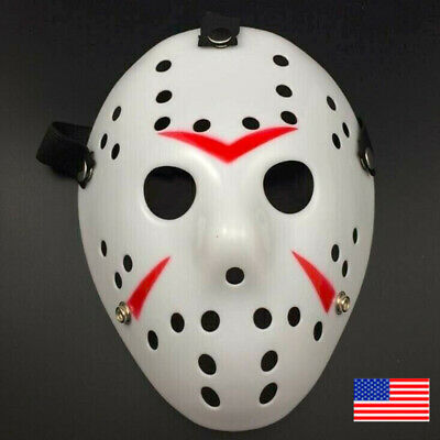 Party Horror Scary Hockey Halloween Mask*Jason Voorhees Friday Cosplay Costume