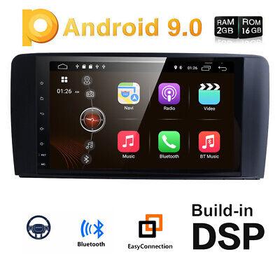 "DAB+Autoradio für Mercedes Benz ML/GL-Klasse W164 X164 Android 9.0 Navi GPS 9"""