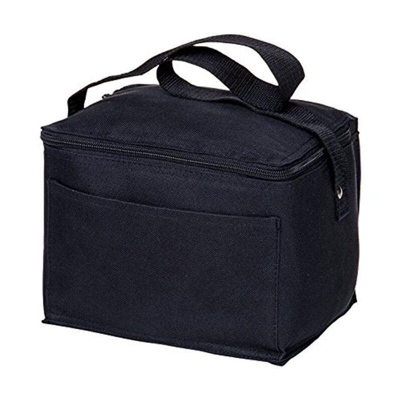 Spectra Baby USA - Insulated Cooler Bag - Black - for Storing and Transporting