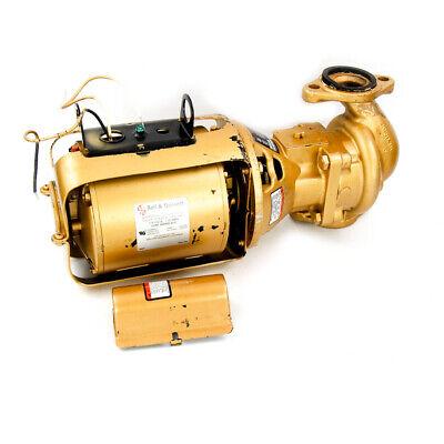 Bell Gossett 100 Bnfi 112 Hp Bronze Potable Water Circulating Pump