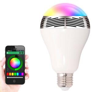 Bluetooth Colour changig bulb and wireless speaker