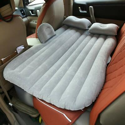 Cama colchon hinchable para Coche 135x85 cm,2 almohadas,inflador electrico,bolsa