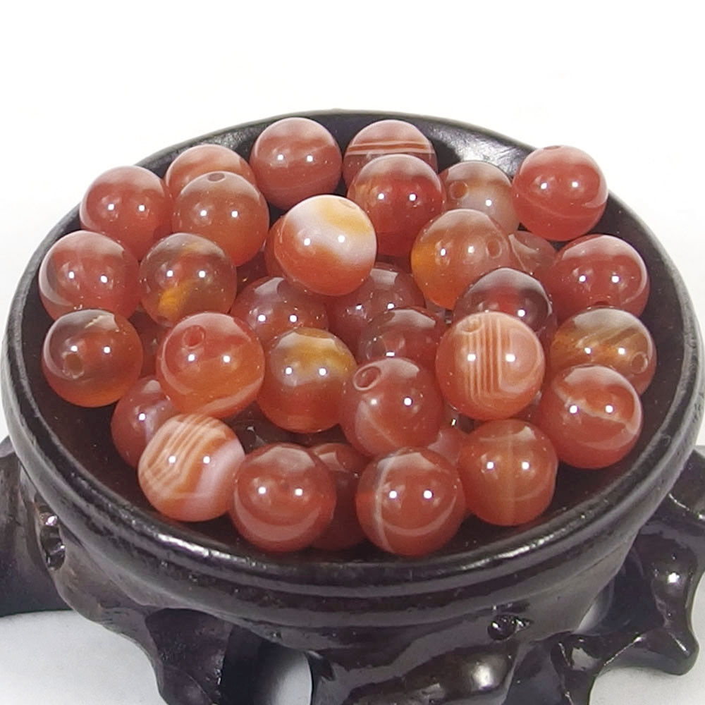 Bulk Gemstones I natural spacer stone beads 4mm 6mm 8mm 10mm 12mm jewelry design red agate