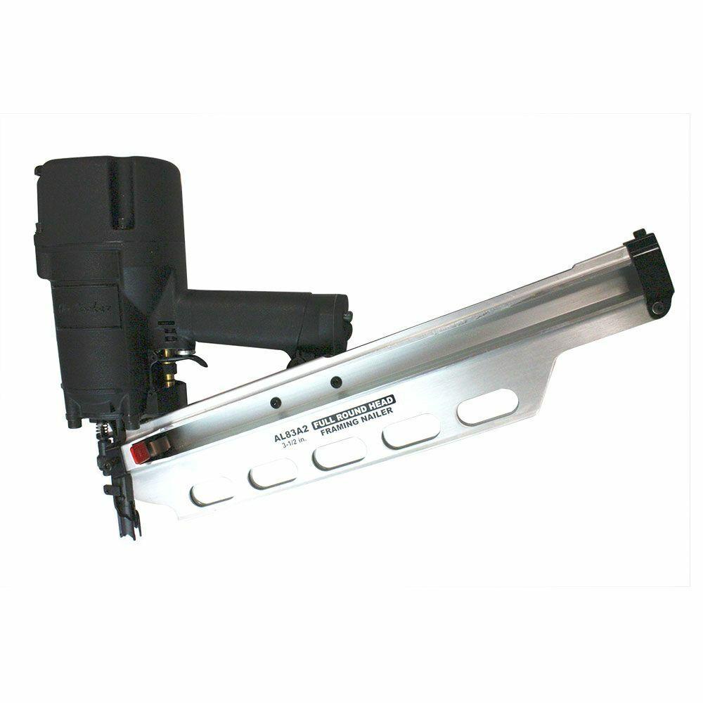 Air Locker AL83A2 Round Full Head Framing Nailer 3-1/2 Inch