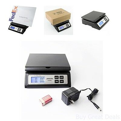 Digital Postal Shipping Scale Display Mailroom Weighing Package Business Office