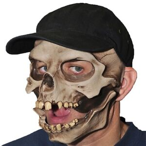 Skull Face Mask with Baseball cap Mount Gravatt Brisbane South East Preview