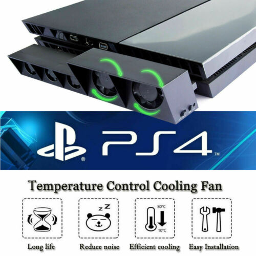 5 Fan For PS4 Play Station4 Host Controller Cooling Fan Cooler External Game USA