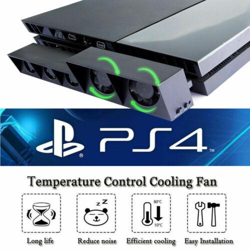 5-Fan PS4 Playstation USB Cooling Fan External Turbo Temperature Control Cooler
