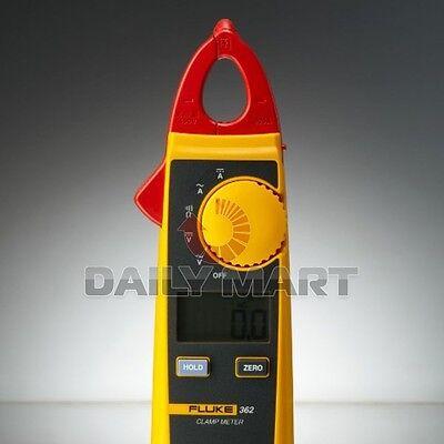 New Fluke 362 Detachable Jaw True-rms Acdc Digital Clamp Meter Multimeter