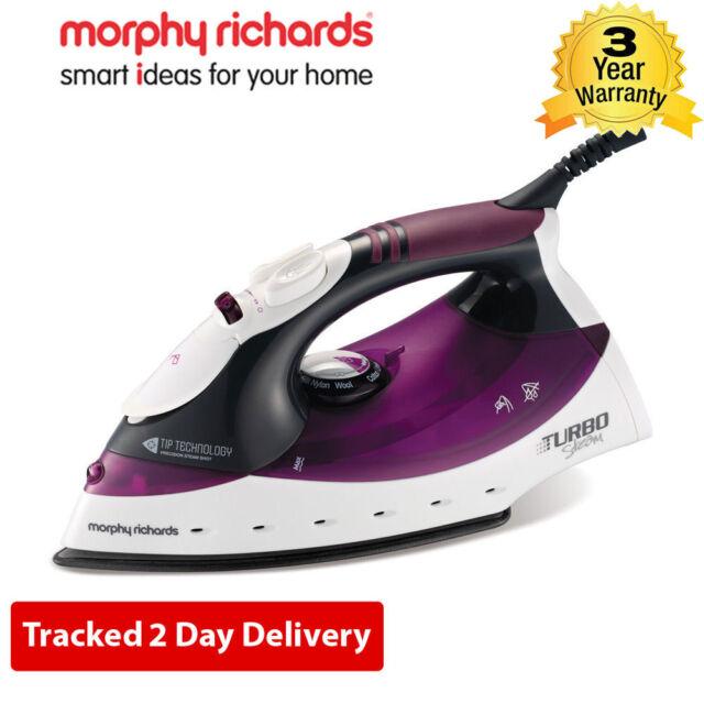 Morphy Richards 40699 Turbosteam Iron - Diamond Soleplate - Tip Technology