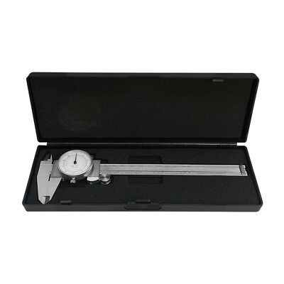 6150mm Dual Reading Dial Caliper Shockproof Scale Metric Sae Standard Inch Mm