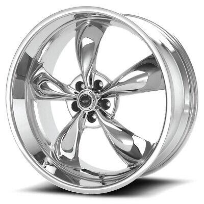 "American Racing AR605 Torq Thrust M 17x8 5x4.75"" +0mm Chrome Wheel Rim 17"" Inch"
