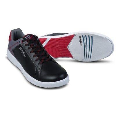 Mens KR Strikeforce ATLAS Bowling Shoes Color Black.Grey/Red  Sizes 8 - 14