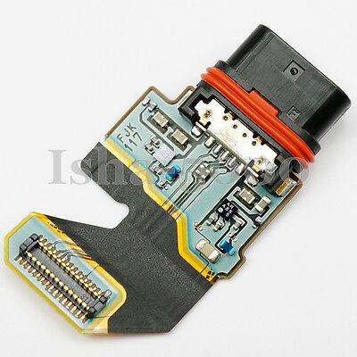 USB Charging Port Dock Connector Flex Cable For Sony Xperia Z5 Premium...