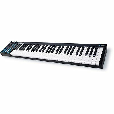 Alesis V61 | 61-Key USB MIDI Keyboard & Drum Pad Controller