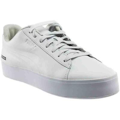 Puma Black Scale Court Platform Sneakers - White - Mens