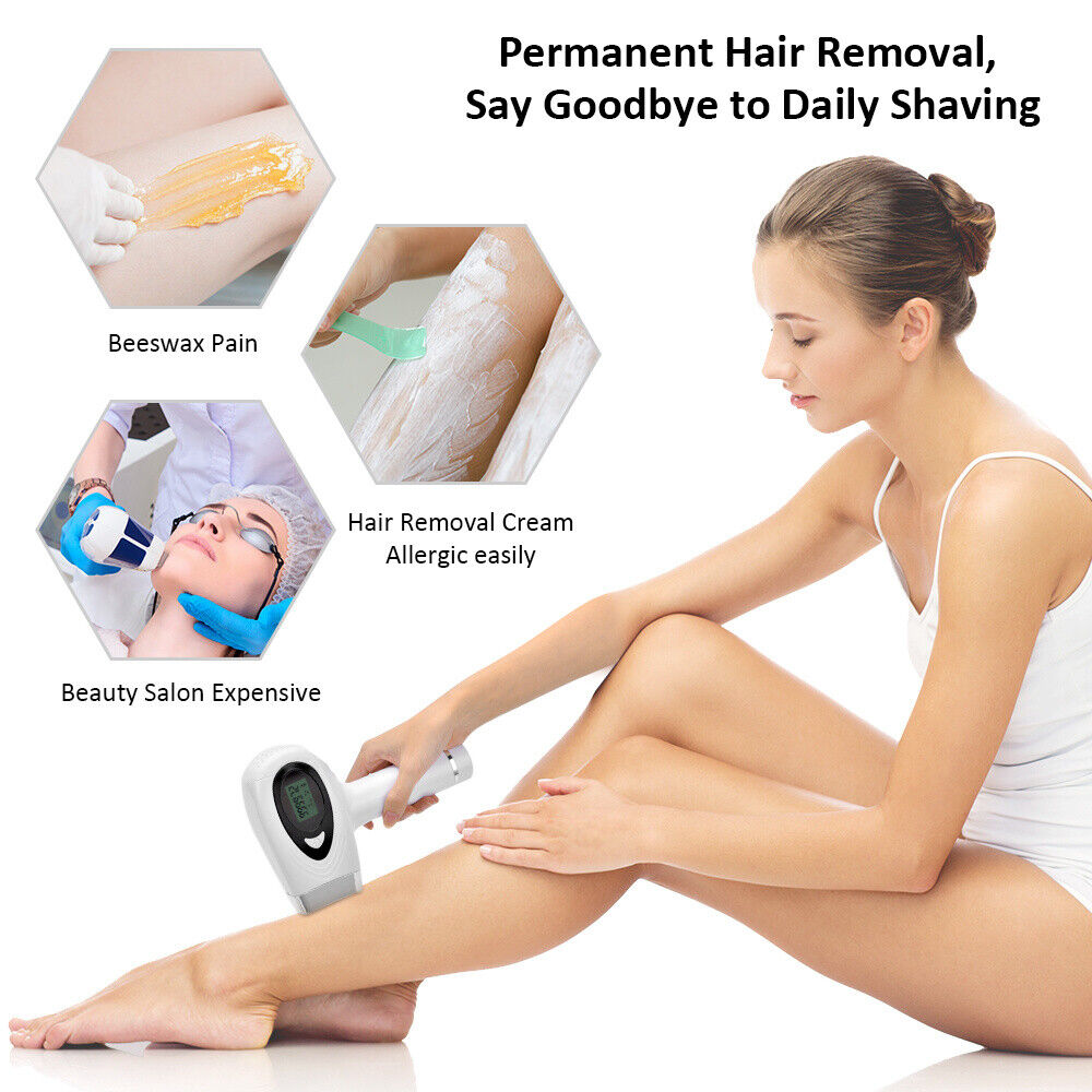 Laser Hair Removal Epilator Permanent 700000 IPL Body Electr