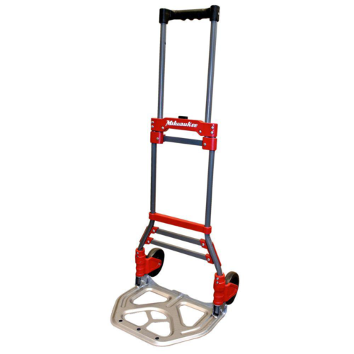folding hand truck dolly 150 lb capacity