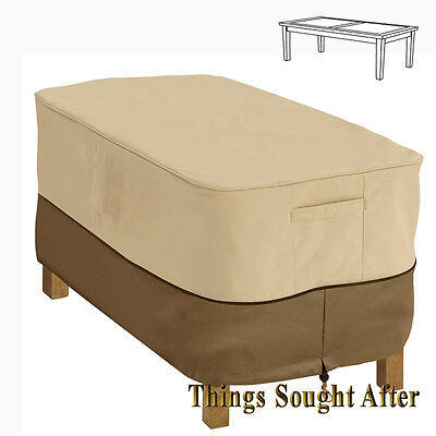 COVER for RECTANGULAR COFFEE TABLE Outdoor Furniture Deck Patio Side - Outdoor Rectangular Side Table